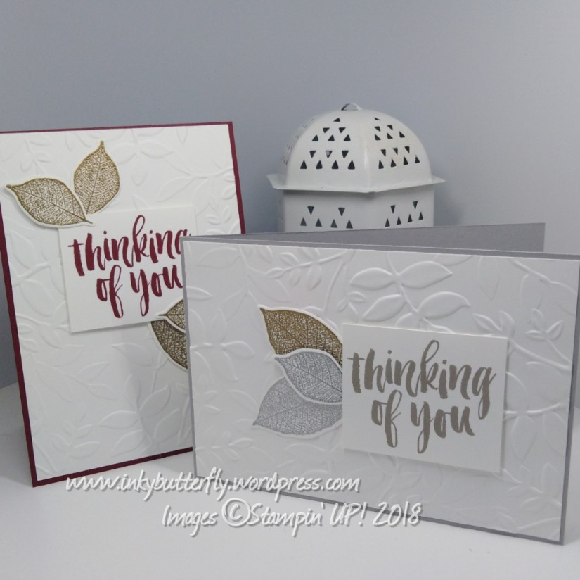 Embossed Thinking of Youcard