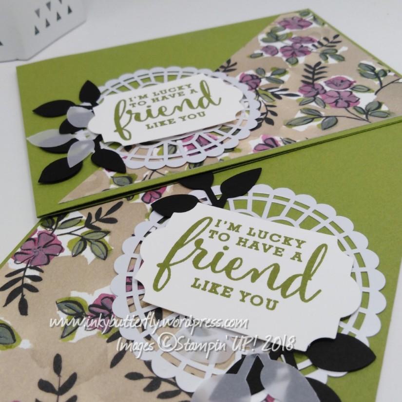 2 cards, 1design