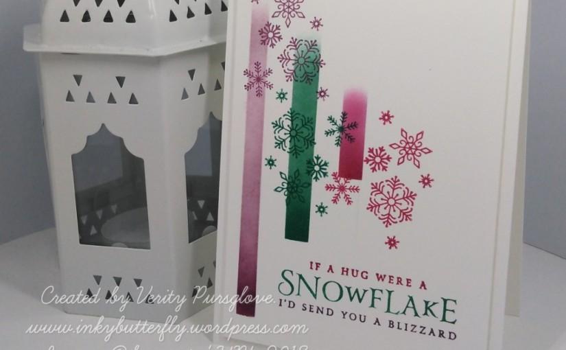 Colourful Snowflakes #FMS354