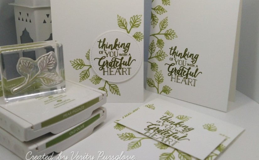 Quick Cards with Falling forLeaves
