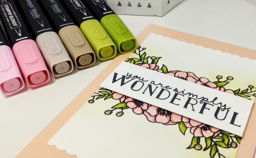 Simple Blending with the Bloom and Grow Stamp Set