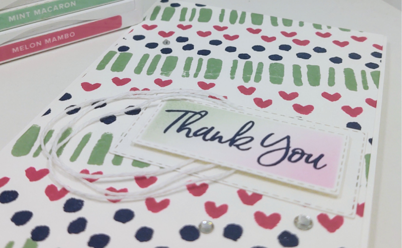 Simple Stampin' with Borders andBackgrounds