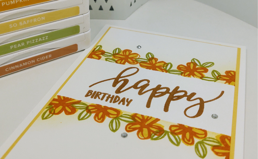 More Stampin' with Pretty Perennials