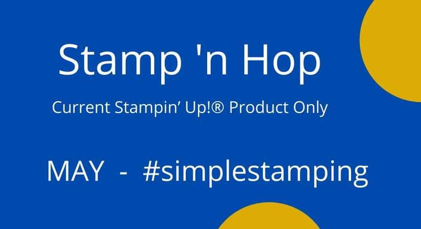 Stamp 'n Hop May – #simplestamping