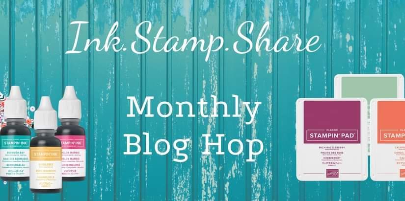 Ink Stamp Share Monthly Blog Hop – SomethingNew!