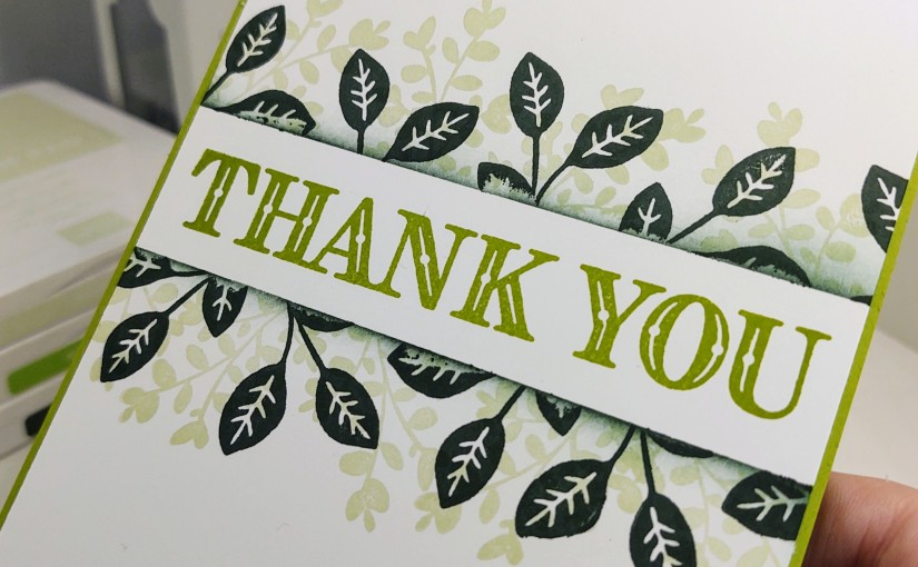 #simplestamping Thank You Cards with LovelyYou