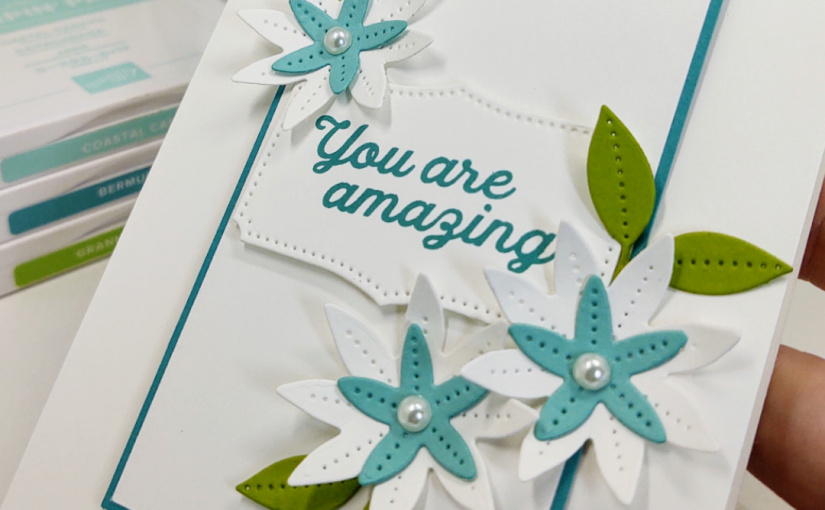 Simply Amazing Cards with the Pierced Bloomsdies