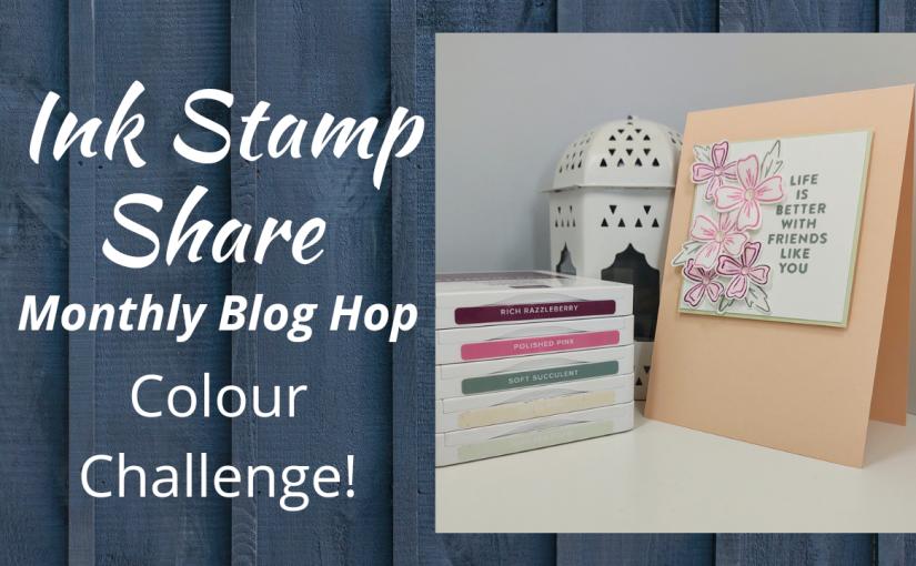 Ink Stamp Share – September ColourChallenge
